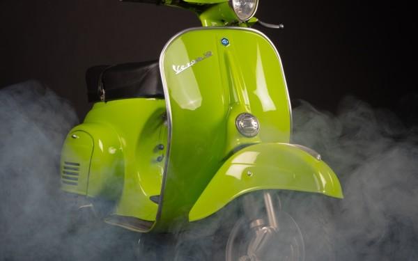Green Vespa for Fluctus Soul