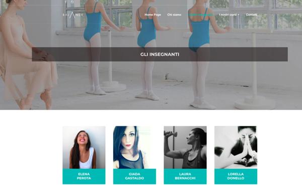Balance Academy WebSite